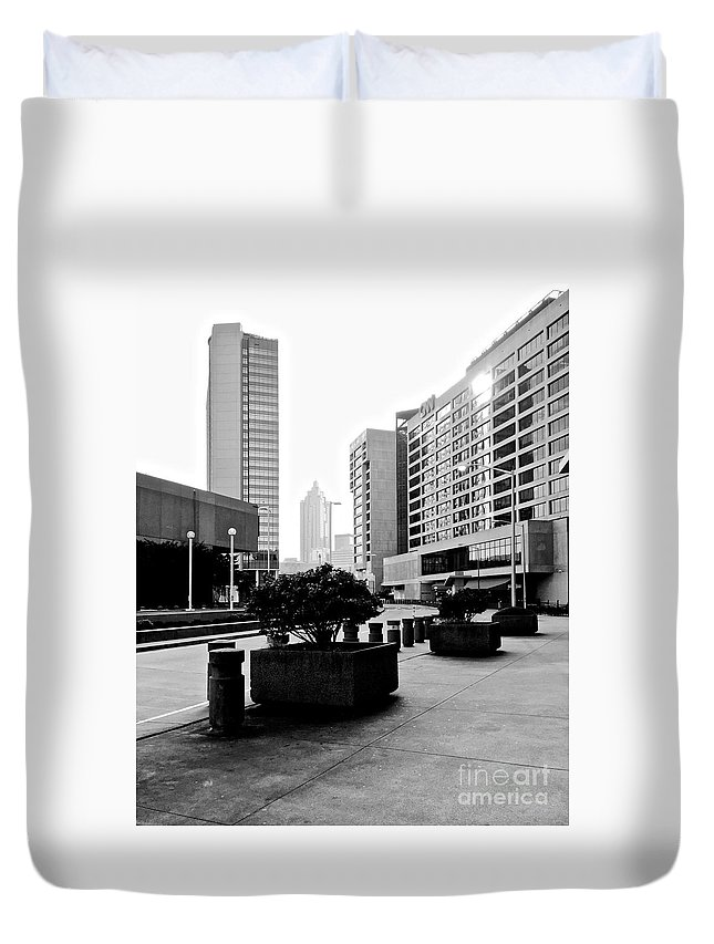 Cnn Duvet Cover featuring the photograph 09032015018 by Debbie L Foreman