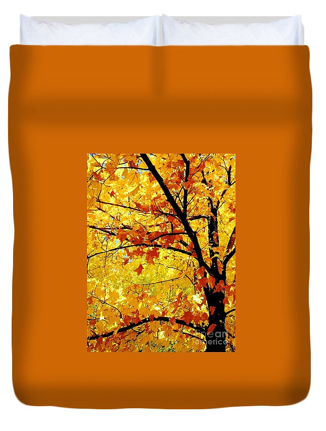 Nature Duvet Cover featuring the photograph 09032015034 by Debbie L Foreman