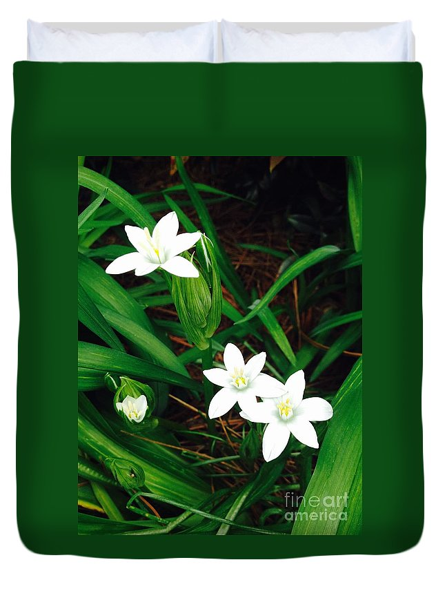 Flower Duvet Cover featuring the photograph 09032015045 by Debbie L Foreman