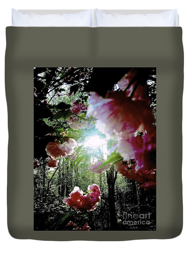 Flower Duvet Cover featuring the photograph 09032015058 by Debbie L Foreman