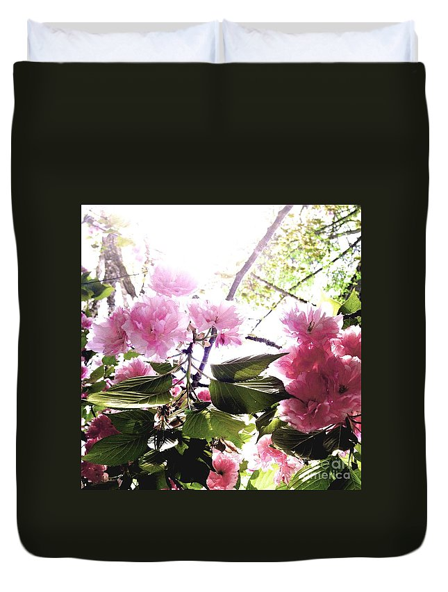 Flower Duvet Cover featuring the photograph 09032015060 by Debbie L Foreman