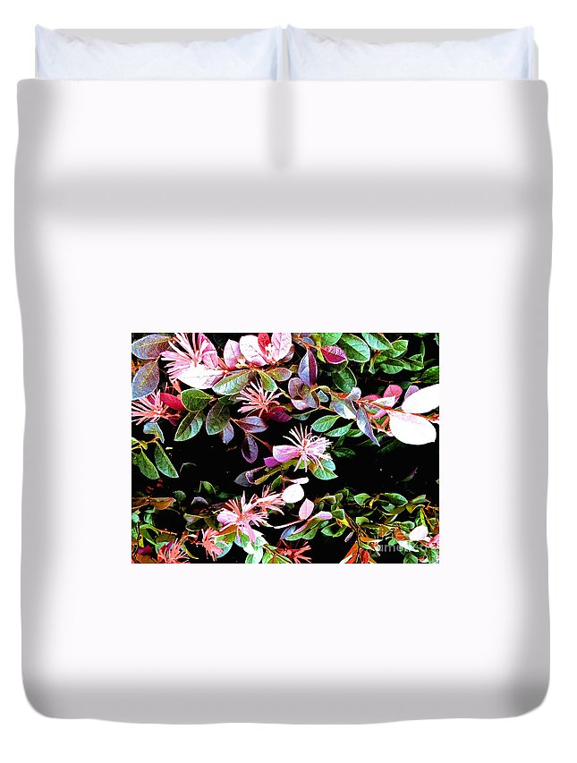 Flower Duvet Cover featuring the photograph 09032015073 by Debbie L Foreman