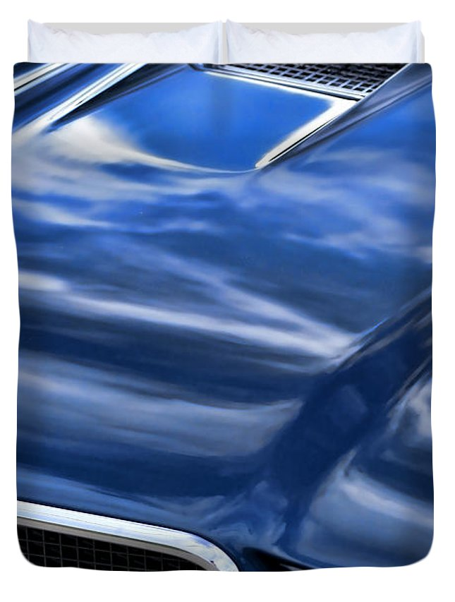 1970 Duvet Cover featuring the photograph 1970 Buick Gs 455 by Gordon Dean II