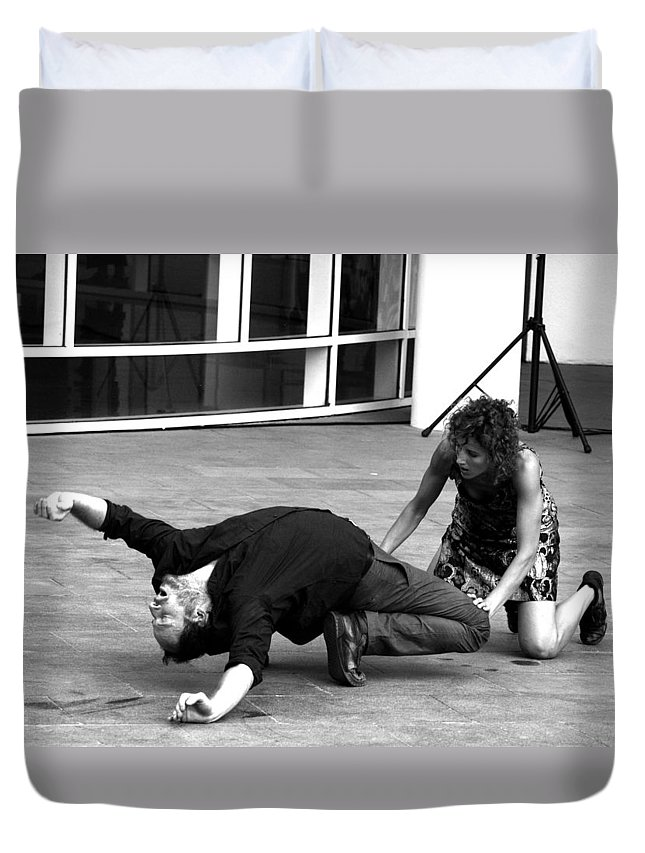 Dance Duvet Cover featuring the photograph 23 by Roger Muntes