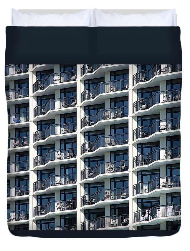 Architecture Duvet Cover featuring the photograph Abstract Architecture by Craig McCausland