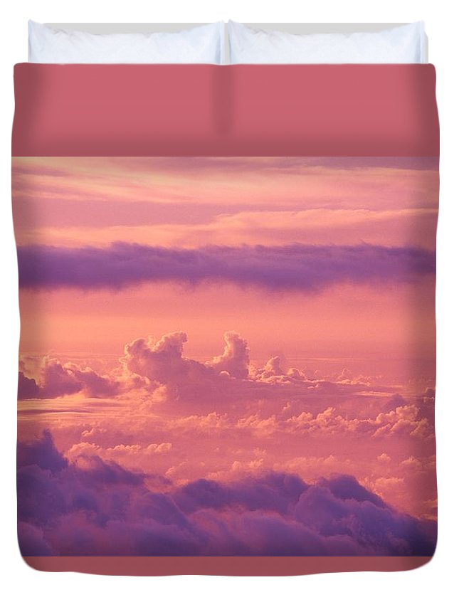 Air Art Duvet Cover featuring the photograph Afternoon On Haleakala by Ron Dahlquist - Printscapes