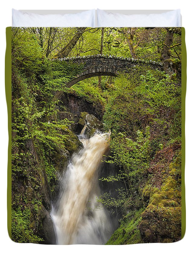 Aira Force Duvet Cover featuring the photograph Aira Force by Paul Cullen