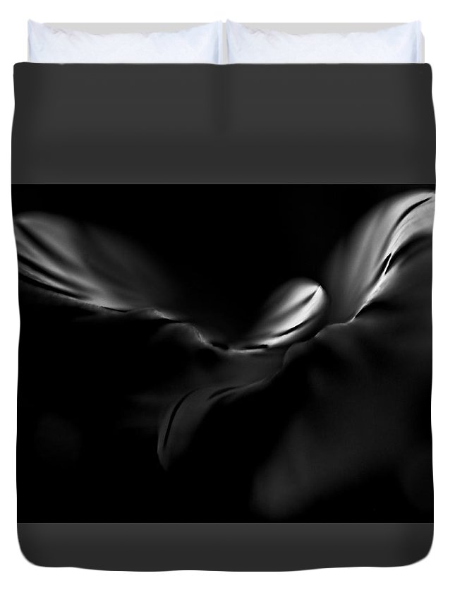 Lowers Duvet Cover featuring the photograph Alosteria 7 by Simone Ochrym