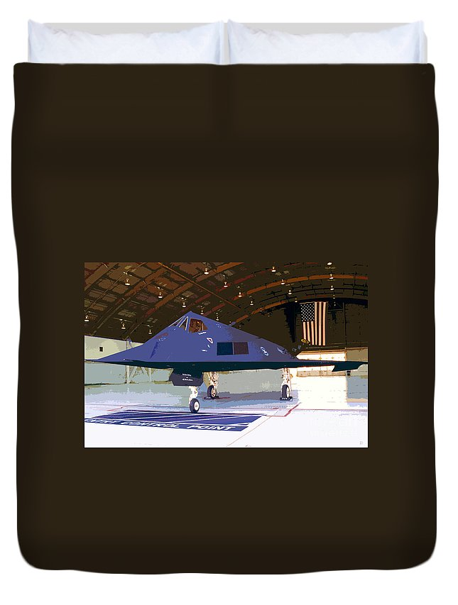 American Duvet Cover featuring the painting American Pride by David Lee Thompson