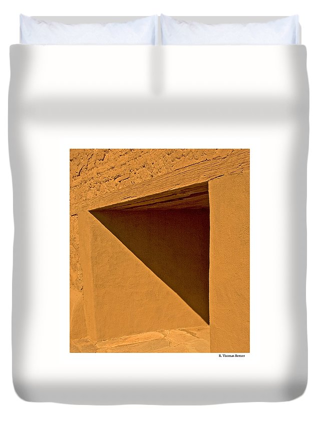Duvet Cover featuring the photograph Angles by R Thomas Berner