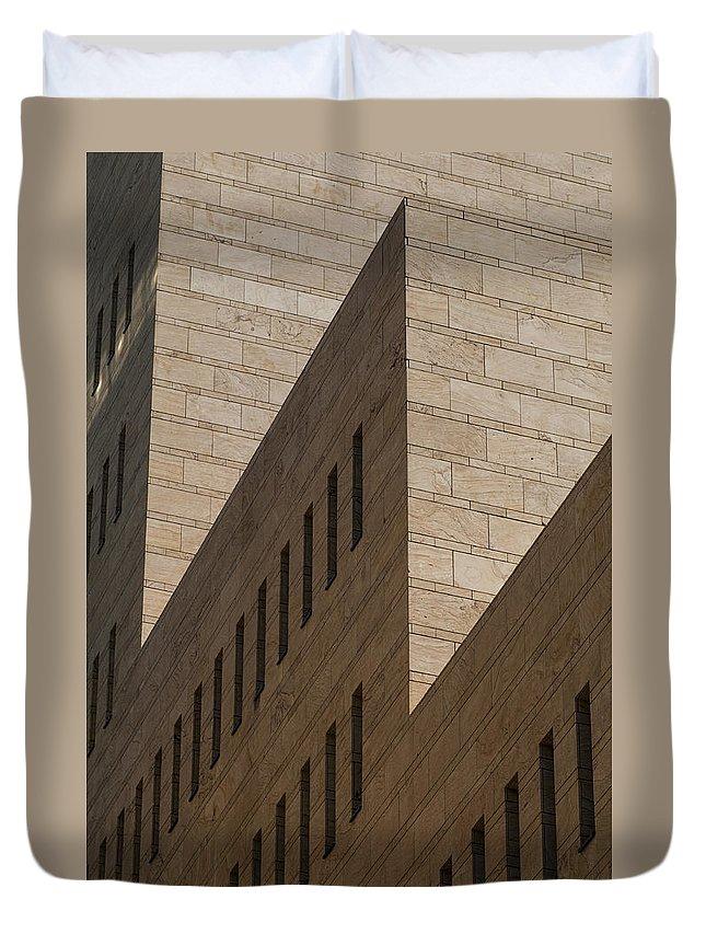 Architecture Duvet Cover featuring the photograph Architecture by Massimo Battaglia