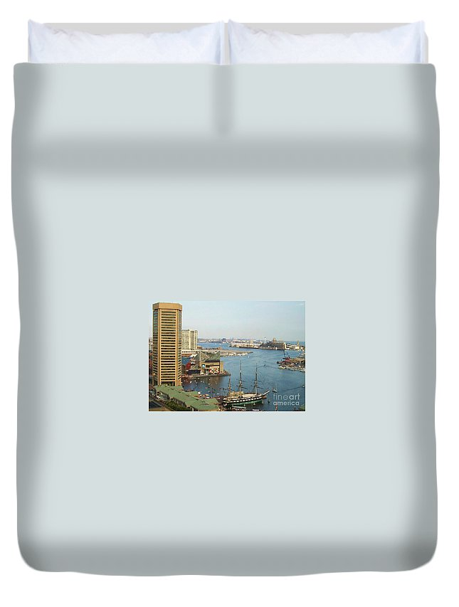 Baltimore Duvet Cover featuring the photograph Baltimore by Debbi Granruth