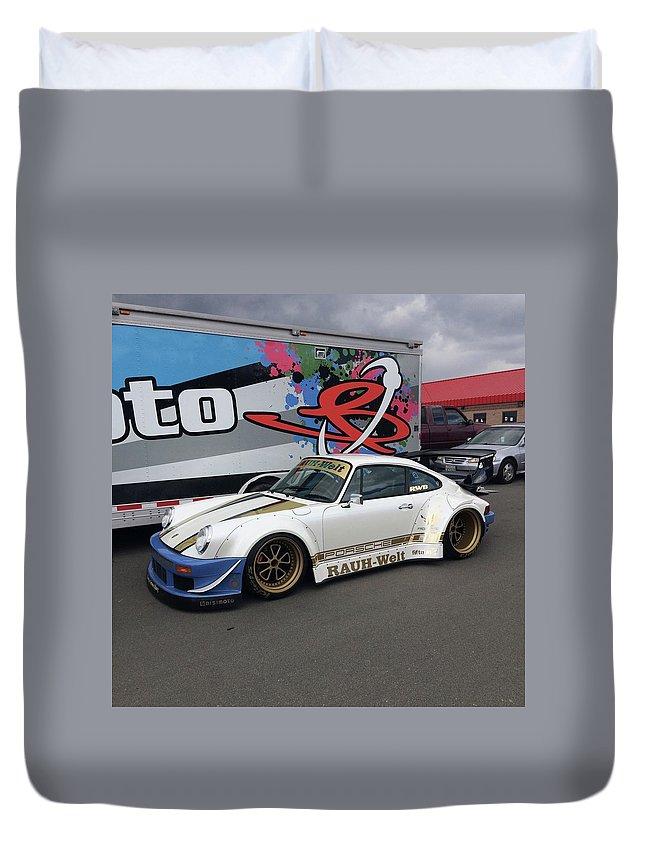 Bisimoto Rwb Porsche Race Car Duvet Cover for Sale by MAG Autosport