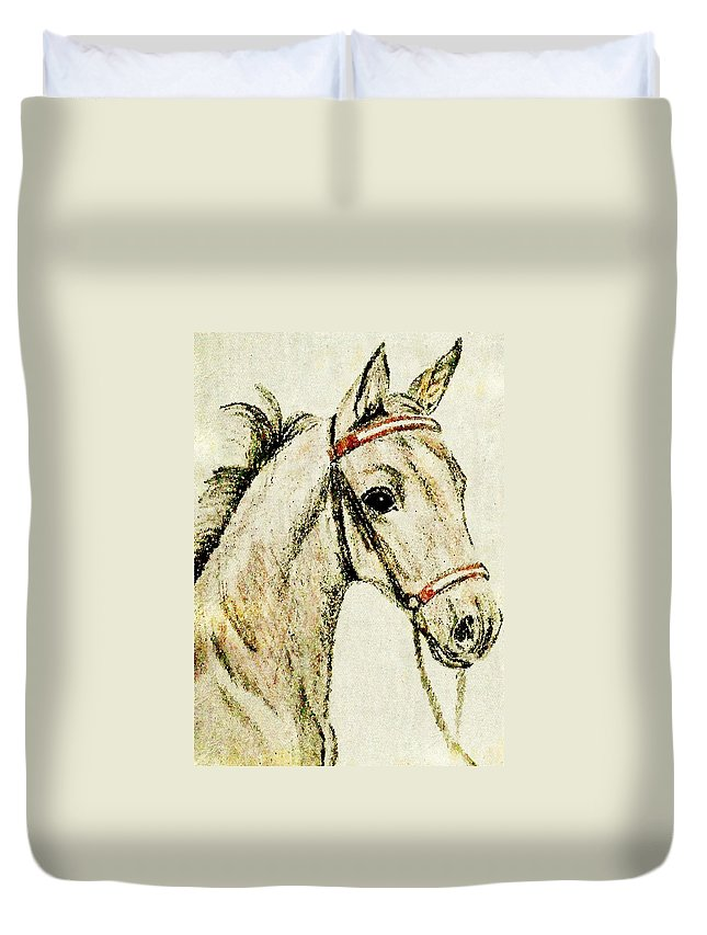 Art Duvet Cover featuring the photograph Bulrush by JAMART Photography