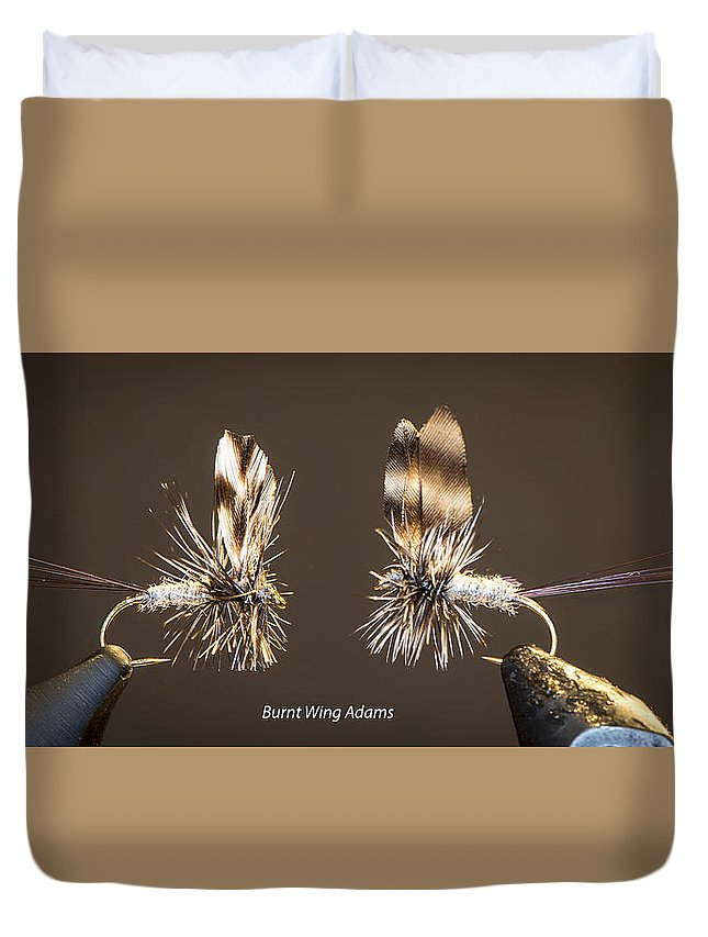 Flies Duvet Cover featuring the photograph Burnt Wing Adams by Philip Rispin