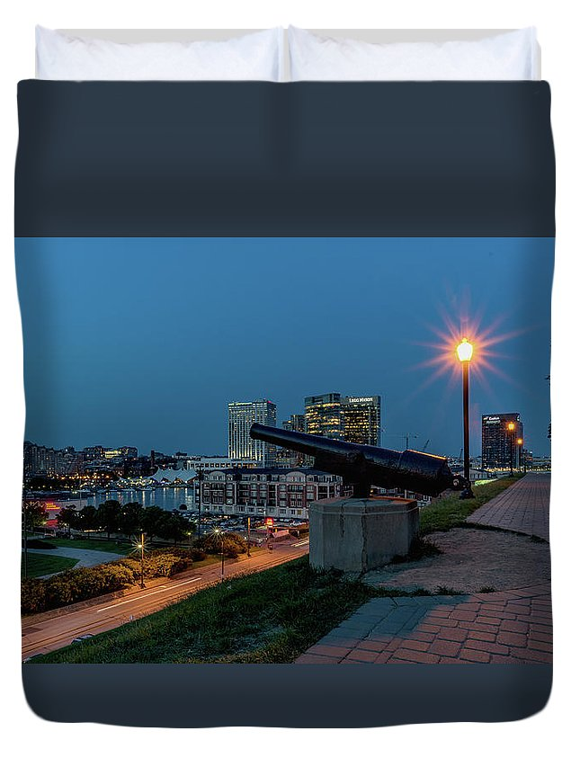2017 Duvet Cover featuring the photograph Federal Hill by Jim Archer