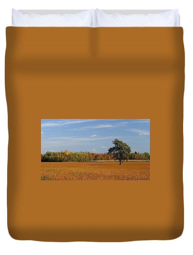 Field Duvet Cover featuring the digital art Field by Bert Mailer
