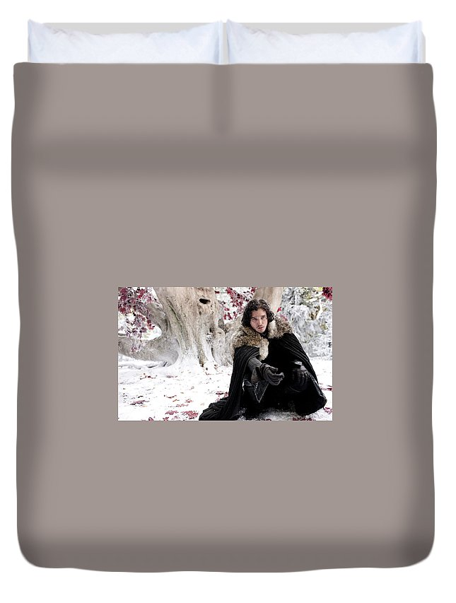Game Of Thrones Duvet Cover featuring the digital art Game Of Thrones by Dorothy Binder