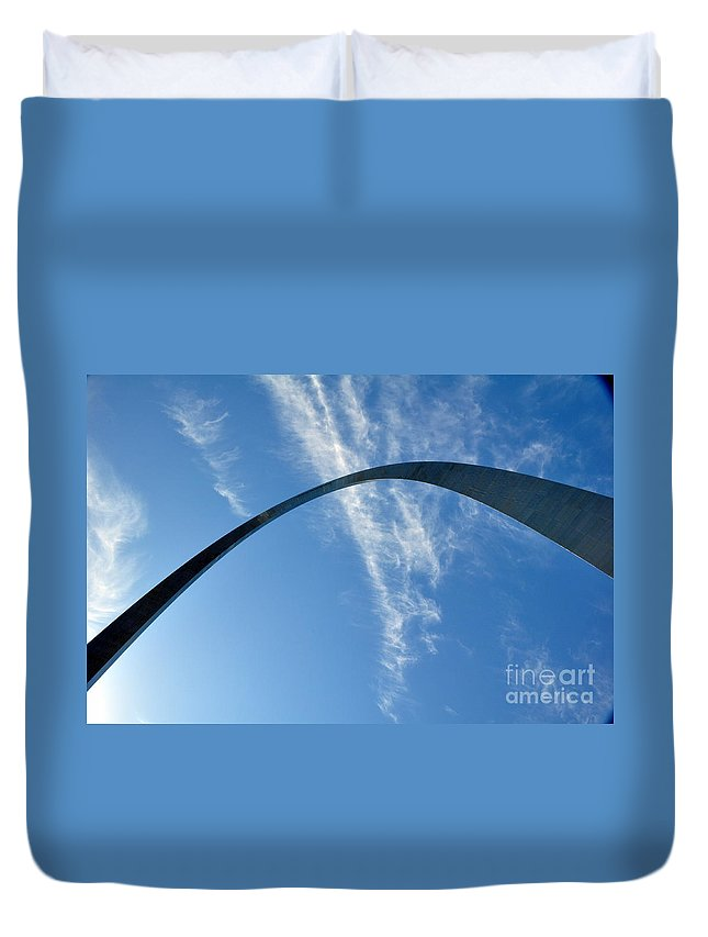 Gateway Arch Duvet Cover featuring the photograph Gateway Arch 4 by Marty Koch
