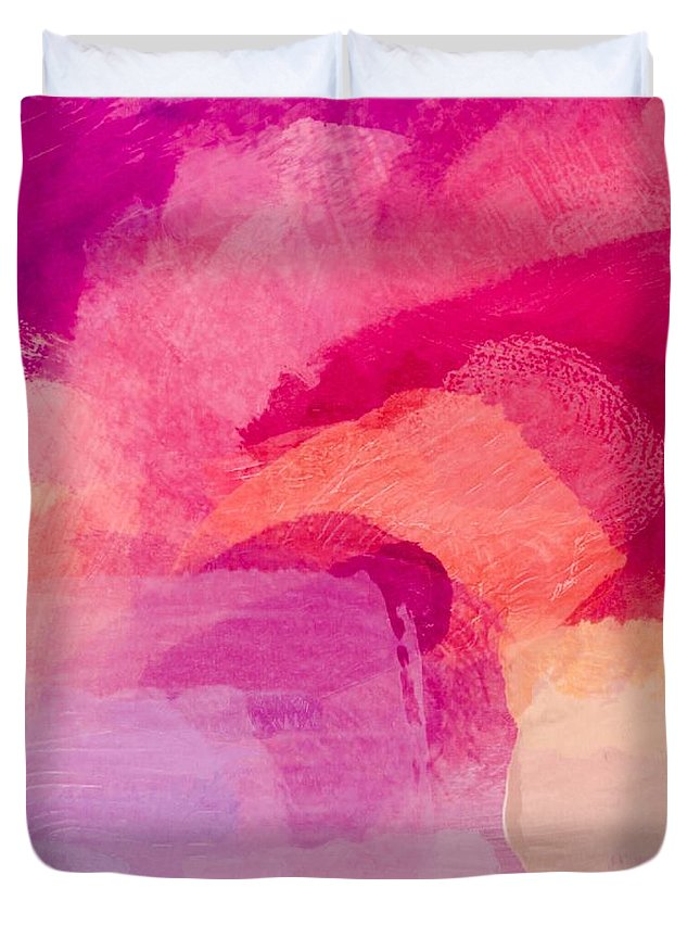 Glow Duvet Cover featuring the painting Glow by Chris Fulks