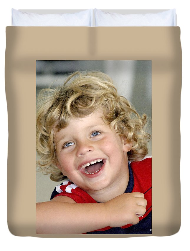 Happy Contest Duvet Cover featuring the photograph Happy Contest 9 by Jill Reger