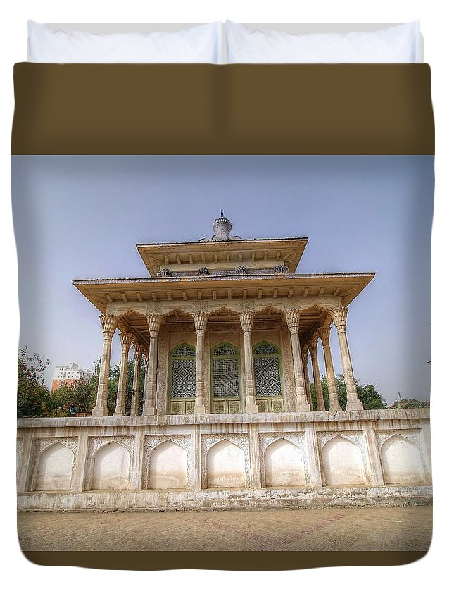 Khorla China Duvet Cover featuring the photograph Khorla China by Paul James Bannerman