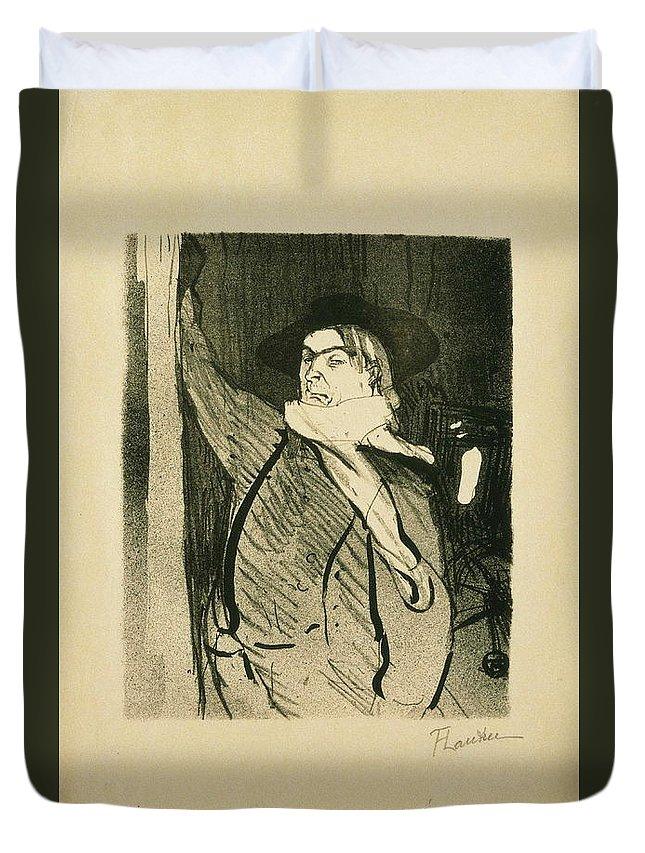 Artistic Duvet Cover featuring the painting Lautrec by Henri De Toulouse