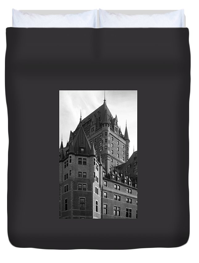 North America Duvet Cover featuring the photograph Le Chateau by Juergen Weiss