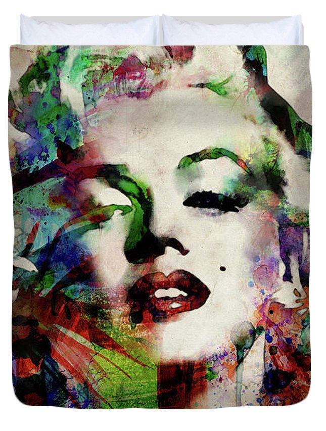 Marilyn Monroe Actress Duvet Covers