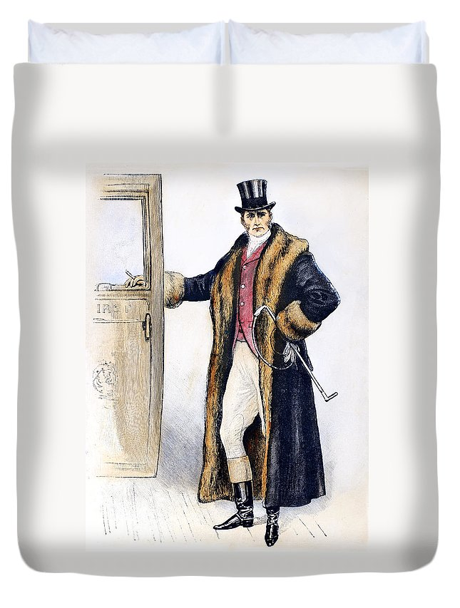 1894 Duvet Cover featuring the photograph Mens Fashion, 1894 by Granger