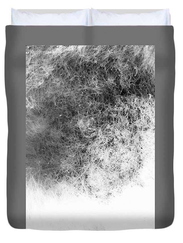 Abstract Duvet Cover featuring the photograph Nature Abstract by Gaspar Avila