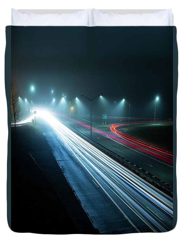 Kremsdorf Duvet Cover featuring the photograph Neverending by Evelina Kremsdorf