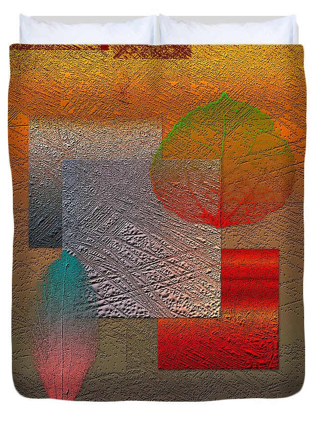 Abstracts By Serge Averbukh Duvet Cover featuring the photograph Quiet Sunset At The End Of Northern Summer by Serge Averbukh
