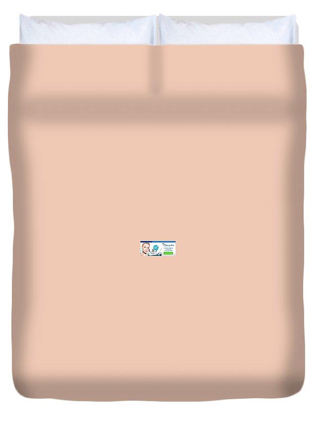 Renuvaline Duvet Cover featuring the digital art Renuvaline by Renuvaline