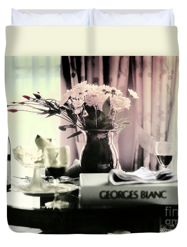 Romance Duvet Cover featuring the photograph Romance In The Afternoon by Madeline Ellis