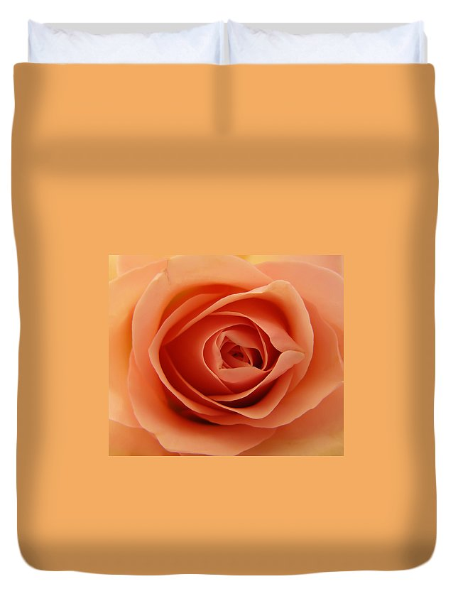 Rose Duvet Cover featuring the photograph Rose by Daniel Csoka