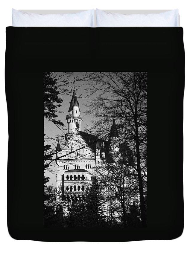 Europe Duvet Cover featuring the photograph Schloss Neuschwanstein by Juergen Weiss