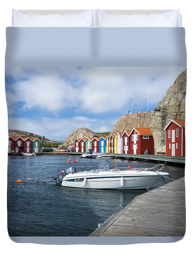 Smogen Duvet Cover featuring the photograph Smogen by James Billings