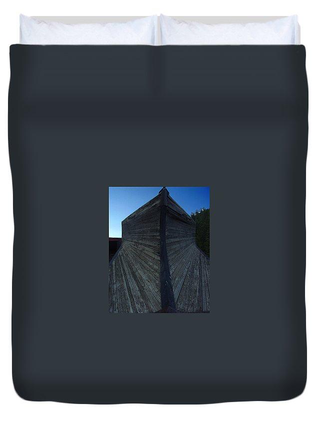 Train Duvet Cover featuring the photograph Snow Plow by Peter Piatt