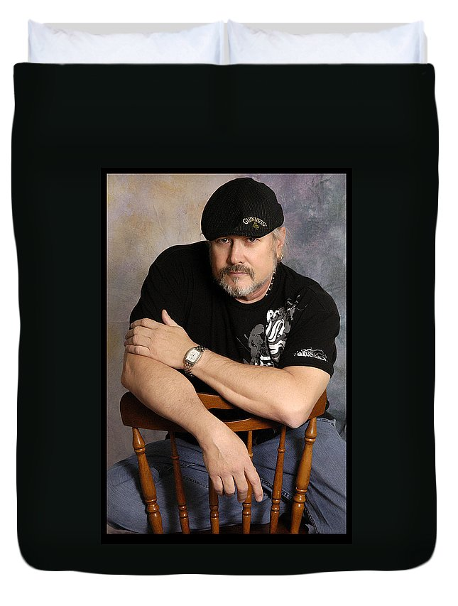 Clay Duvet Cover featuring the photograph The Artist by Clayton Bruster