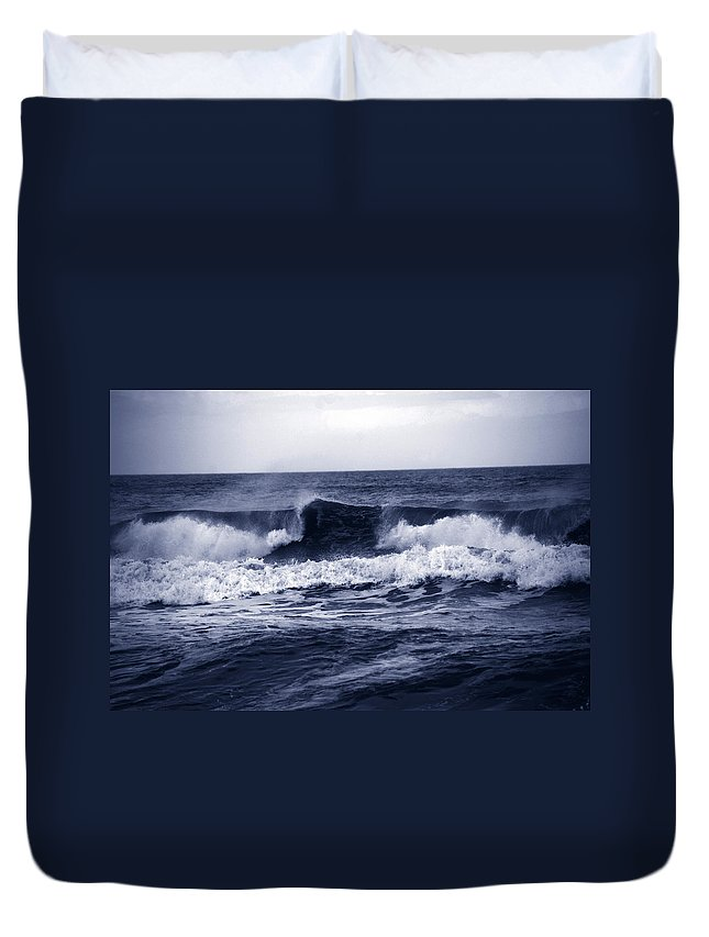 Photography Duvet Cover featuring the photograph The Song Of The Ocean by Susanne Van Hulst