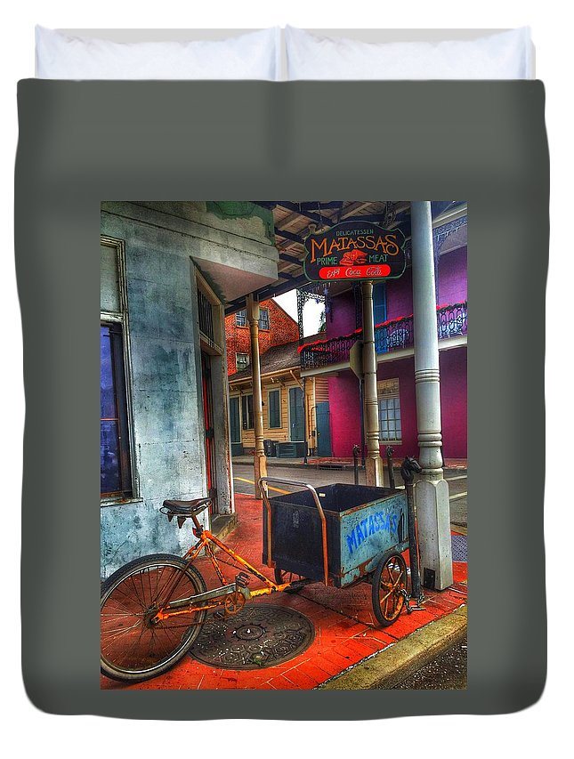 Music Duvet Cover featuring the photograph Tutti Frutti by Mark Pritchard