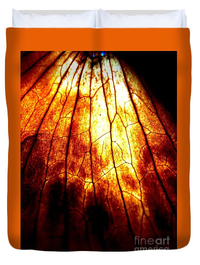 Vertical Duvet Cover featuring the photograph Vertical by Tim Townsend
