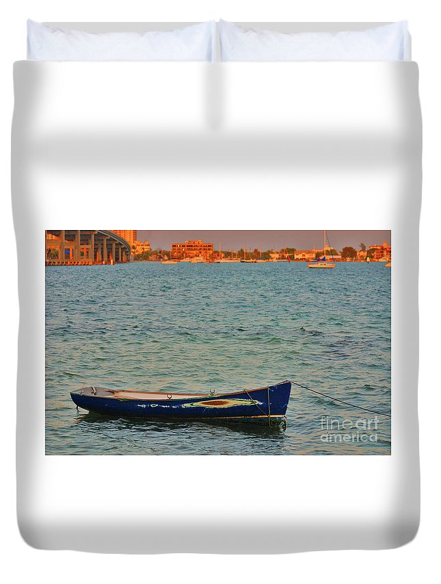 Duvet Cover featuring the photograph 1- Waiting by Joseph Keane