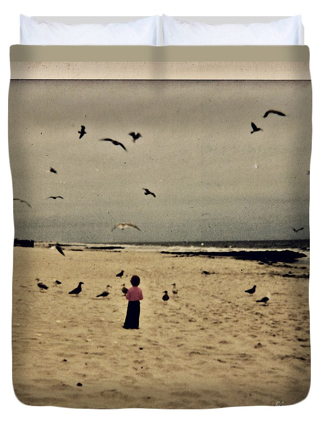 Ocean Duvet Cover featuring the photograph When Promises Were For Keeps by Dana DiPasquale