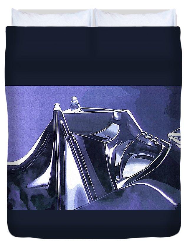 Star Wars Clone Duvet Cover featuring the digital art Original Star Wars Art by Larry Jones