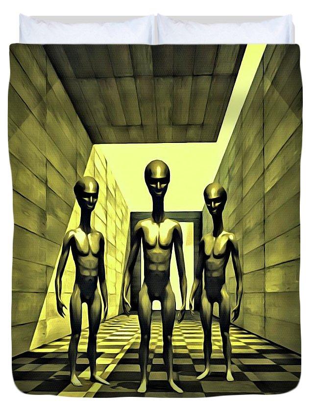 Designs Similar to The Alien Conspiracy