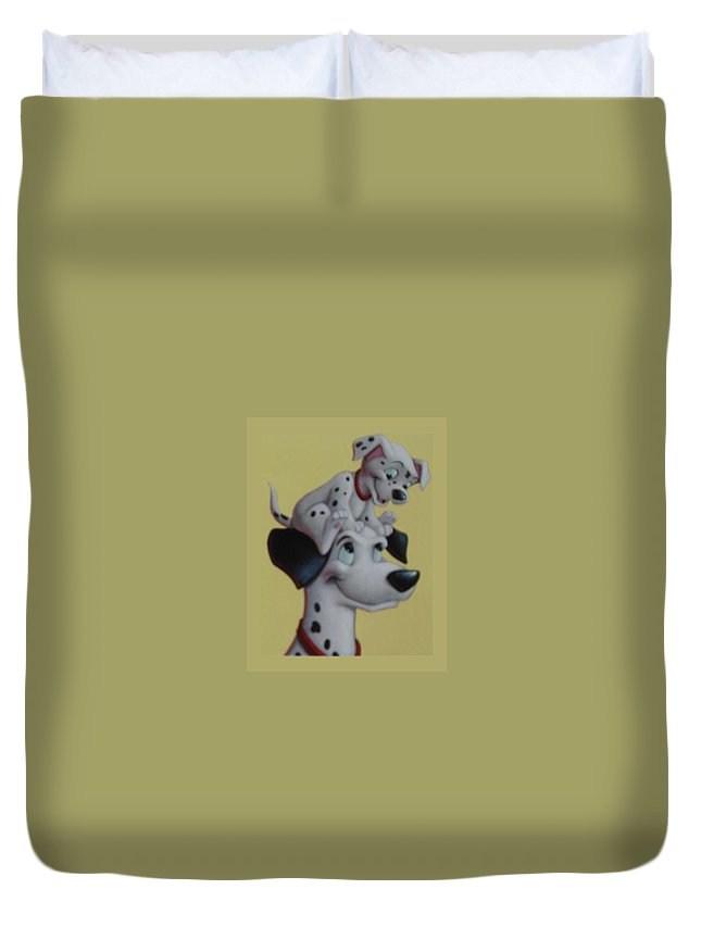 Disney Duvet Cover featuring the photograph 101 by Rob Hans