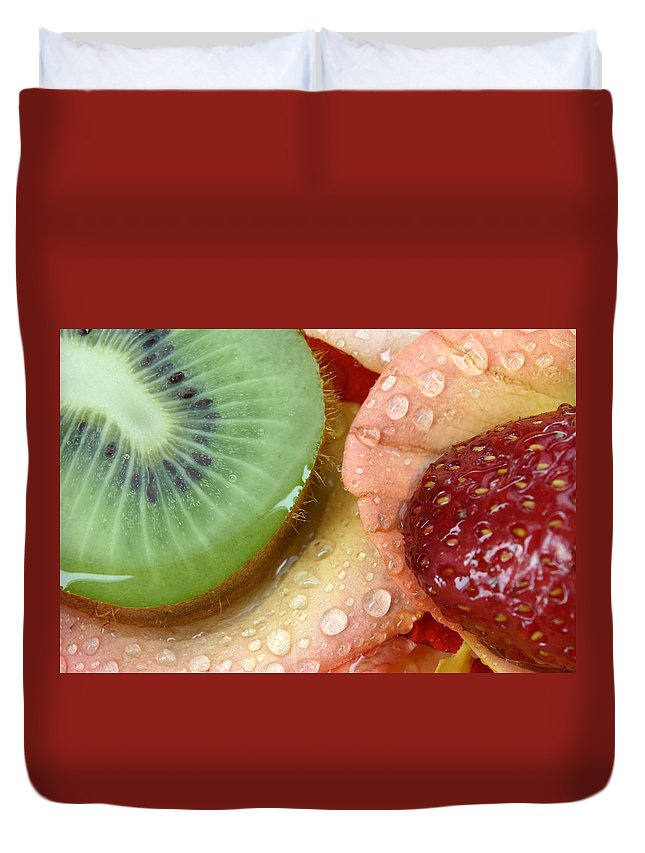 Freshness Duvet Cover featuring the photograph Fruit by Avril Christophe