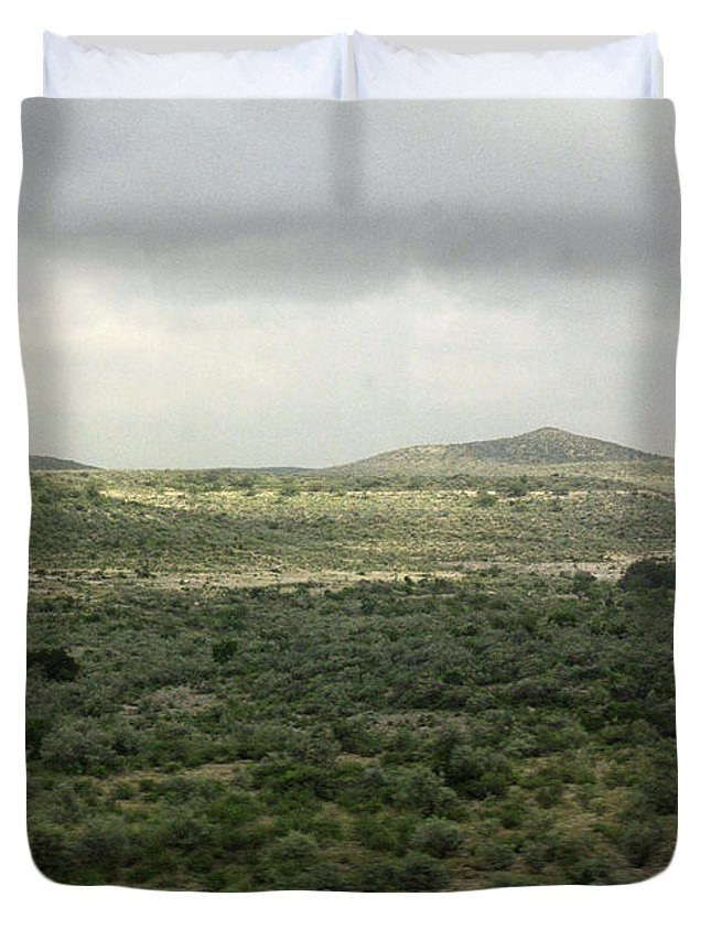 Countryside Duvet Cover featuring the photograph Texas Scenic Landscape by James Connor